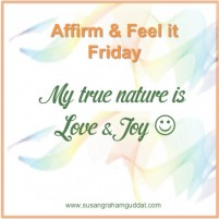 My true nature is Love & Joy :)